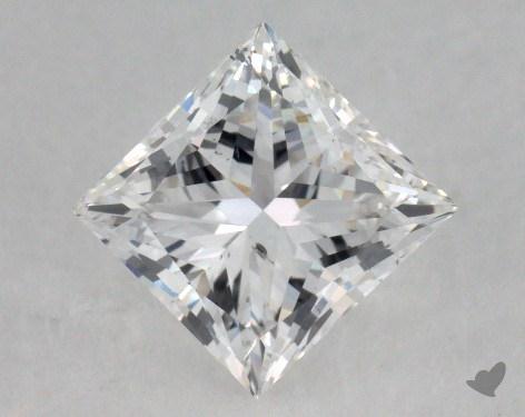 1.21 Carat F-SI1 Very Good Cut Princess Diamond