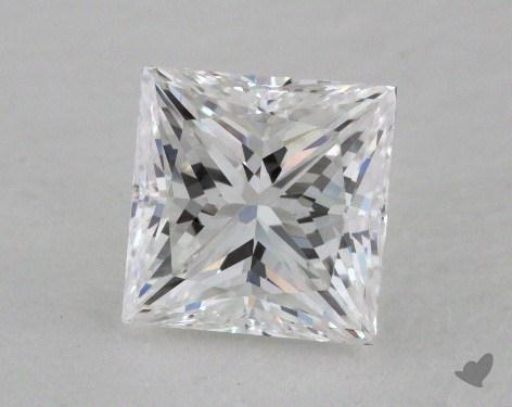 1.53 Carat E-VVS2 Very Good Cut Princess Diamond
