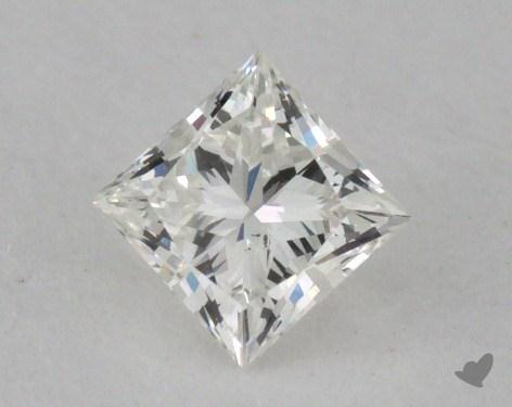 <b>0.34</b> Carat H-SI1 Princess Cut Diamond
