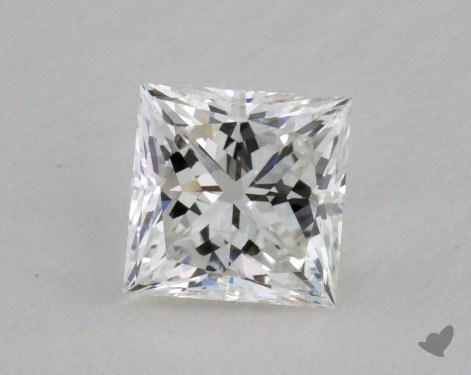 0.57 Carat G-SI2 Ideal Cut Princess Diamond