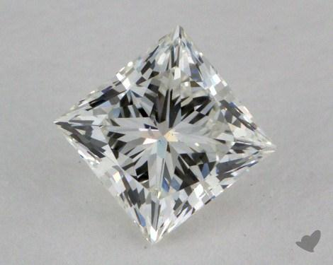 0.54 Carat H-SI1 Ideal Cut Princess Diamond