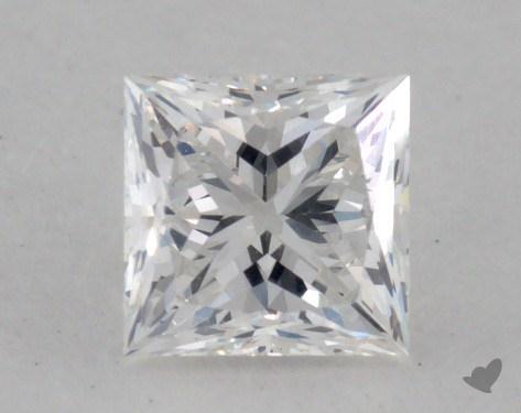 0.45 Carat F-VS1 Ideal Cut Princess Diamond
