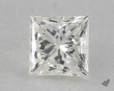 0.41 Carat H-VS2 Ideal Cut Princess Diamond