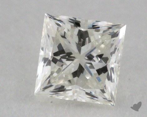 0.44 Carat I-VVS2 Ideal Cut Princess Diamond