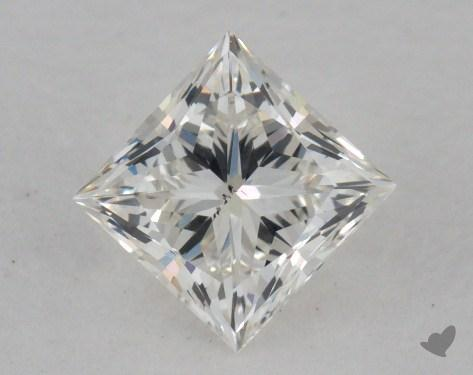 0.77 Carat I-SI1 Ideal Cut Princess Diamond