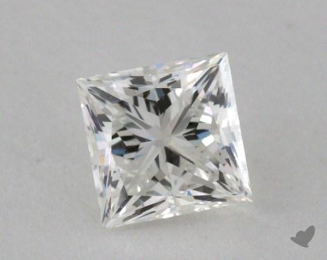 0.73 Carat G-VVS1 Ideal Cut Princess Diamond