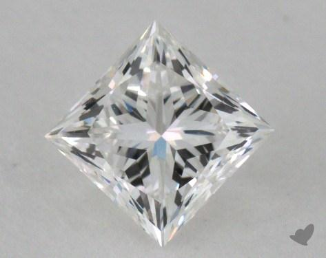 0.72 Carat F-VVS2 Very Good Cut Princess Diamond