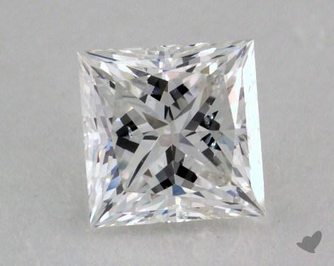 1.21 Carat F-SI1 Ideal Cut Princess Diamond