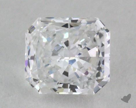 0.70 Carat D-VS2 Radiant Cut Diamond