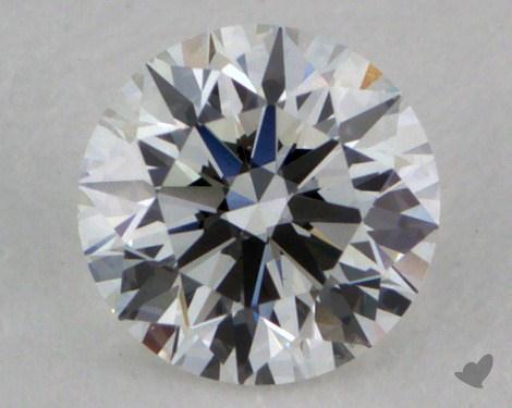 0.33 Carat F-SI1 Ideal Cut Round Diamond