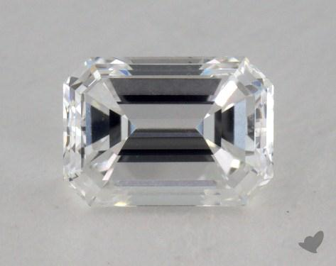 0.58 Carat D-VS1 Emerald Cut  Diamond