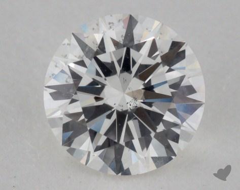 0.80 Carat G-SI1 Very Good Cut Round Diamond
