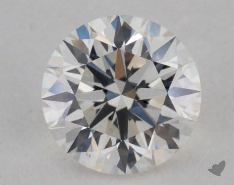 0.80 Carat I-SI1 Very Good Cut Round Diamond