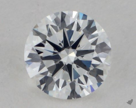 0.70 Carat E-VS2 Good Cut Round Diamond 