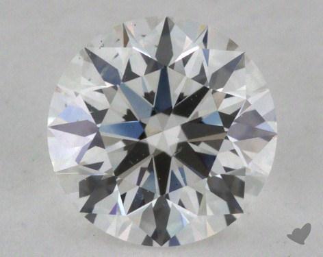 0.71 Carat F-SI1 Excellent Cut Round Diamond
