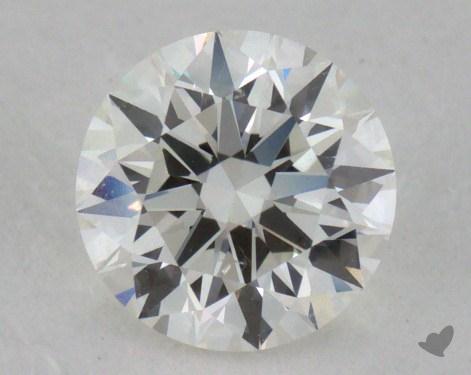 0.81 Carat H-VS2 Excellent Cut Round Diamond