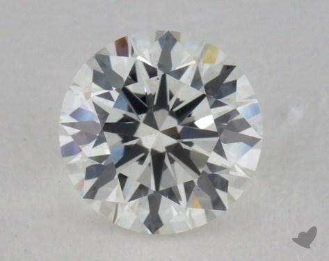 0.84 Carat I-VS2 Excellent Cut Round Diamond