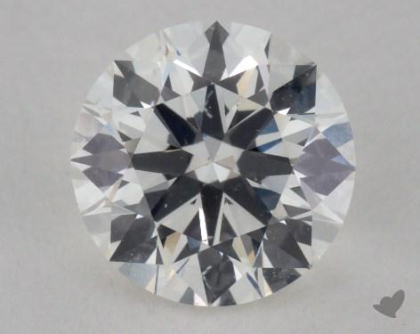 0.83 Carat H-SI1 Excellent Cut Round Diamond