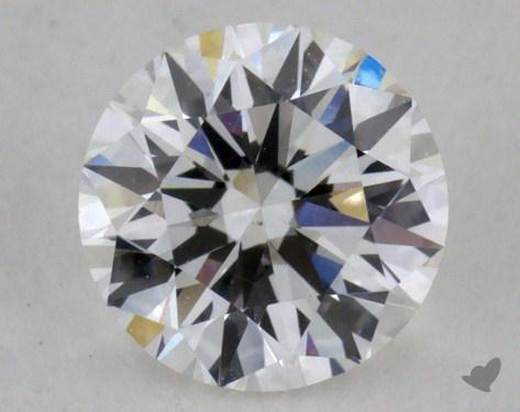 0.71 Carat E-VS2 Very Good Cut Round Diamond