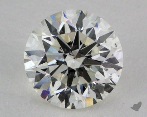 1.34 Carat I-SI2 Excellent Cut Round Diamond