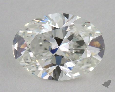 0.90 Carat G-VS2 Oval Cut Diamond