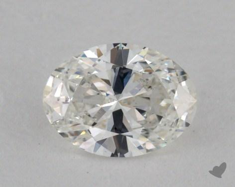 0.71 Carat H-VVS1 Oval Cut Diamond