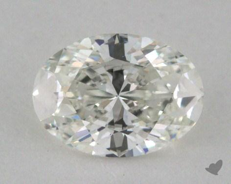 0.70 Carat H-VVS2 Oval Cut Diamond