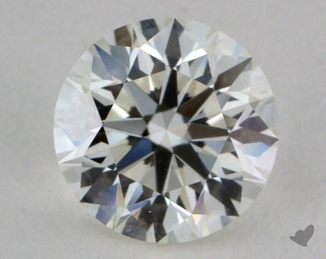 0.76 Carat H-VS1 Very Good Cut Round Diamond