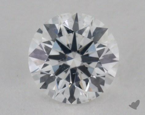 0.57 Carat F-SI2 Ideal Cut Round Diamond