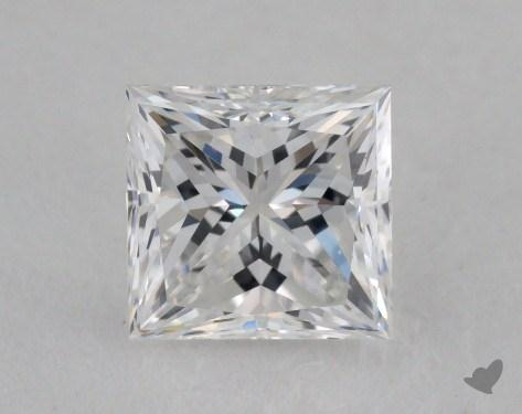 0.93 Carat E-VVS1 Princess Cut  Diamond