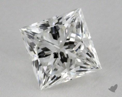 0.68 Carat G-I1 Ideal Cut Princess Diamond