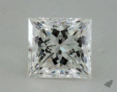 1.02 Carat G-IF Very Good Cut Princess Diamond