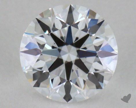 0.64 Carat D-IF Excellent Cut Round Diamond