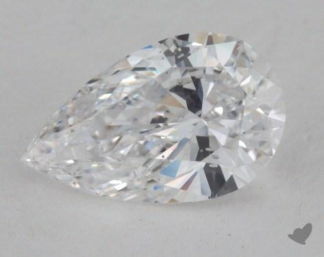 1.09 Carat D-SI2 Pear Cut Diamond 