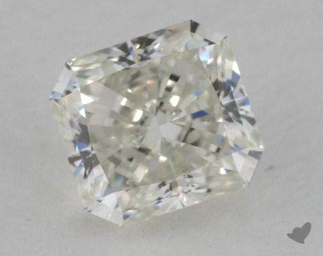 1.09 Carat J-IF Radiant Cut Diamond