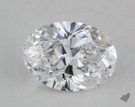1.00 Carat D-VS2 Oval Cut Diamond