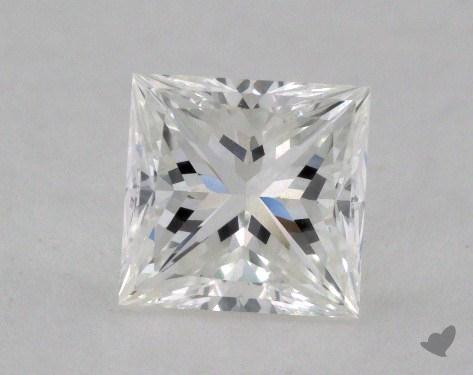 1.36 Carat G-VVS2 Ideal Cut Princess Diamond