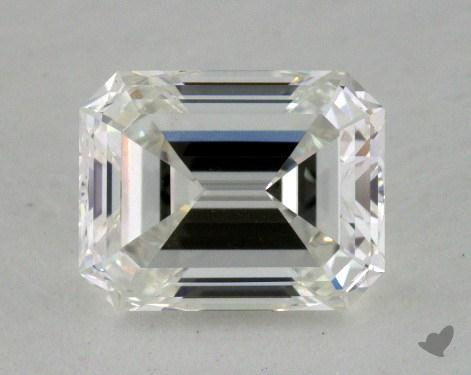 1.17 Carat F-VS1 Emerald Cut  Diamond
