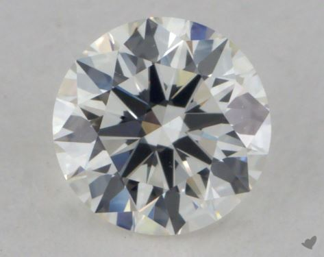 0.70 Carat G-IF Excellent Cut Round Diamond