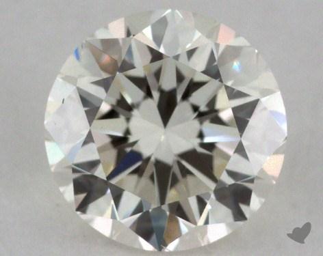 0.70 Carat K-VS1 Good Cut Round Diamond