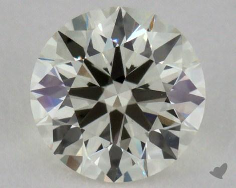 0.70 Carat K-VS1 Excellent Cut Round Diamond