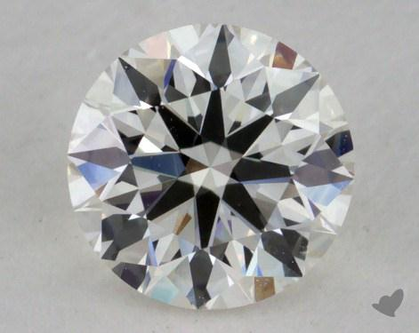0.74 Carat I-SI1 Excellent Cut Round Diamond