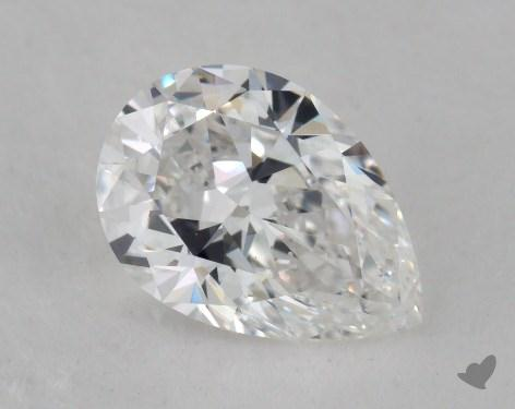 1.21 Carat D-SI1 Pear Shaped  Diamond