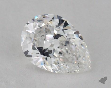 1.21 Carat D-SI1 Pear Shape Diamond