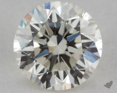 0.72 Carat K-VS2 Good Cut Round Diamond