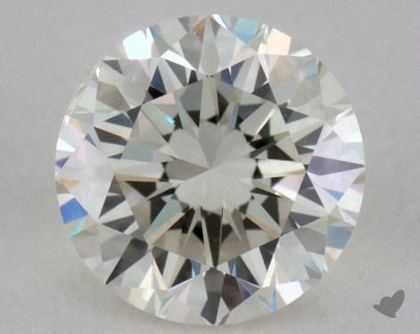 0.72 Carat K-SI1 Good Cut Round Diamond