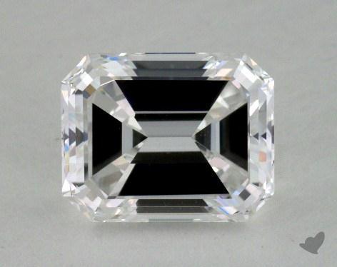 1.50 Carat D-VS2 Emerald Cut Diamond