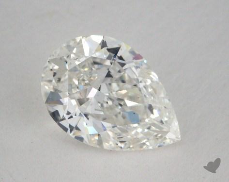 1.54 Carat G-SI1 Pear Shape Diamond