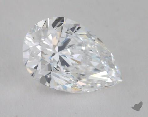 1.58 Carat D-SI2 Pear Shape Diamond
