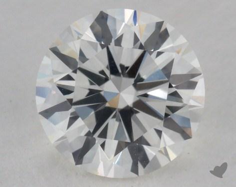 1.23 Carat H-VS2 Excellent Cut Round Diamond